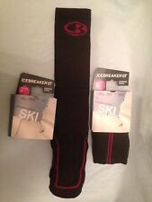 ICEBREAKER MEDIUM LADIES 65% MERINO WOOL SKI SNOWBOARDING MEDIUM / HEAVY CUSHION