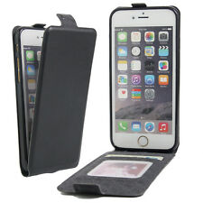 Flip Case Genuine Leather Card Cover For Apple Iphone 4 4S 5 5S SE 6 6S Plus