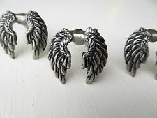 Angel Wings Drawer Dresser Pull Knob Pewter Metal New Harley Angels Religious