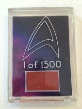 Star Trek: The Motion Picture Costume Card Diamond Select 1 of 1500
