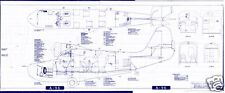 GRUMMAN GOOSE JRF G-21 PERIOD BLUEPRINT PLANS RARE DRAWINGS period archive 1940s