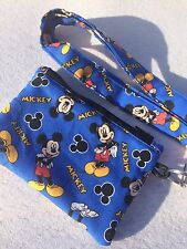 Disney Mickey Mouse Coin Purse And ID Lanyard