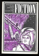 Revue FICTION n° 168 Nov. 1967  Brian W. ALDISS / Vic CHAPMAN / D.P. BUCK   OPTA