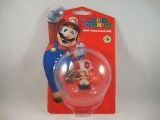 "Super Mario Serie 3 ""Toad"" Mini Figur Nintendo new Brothers Sammelfigur Pilz"