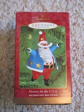 2000 Hallmark Ornament Hooray for the USA