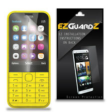 3X EZguardz LCD Screen Protector Skin HD 3X For Nokia Asha 225 (Ultra Clear)