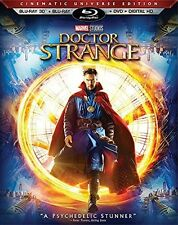 Doctor Strange Blu-ray 3D + Blu-Ray + DVD + Ultra HD