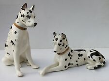 Statues chien dogue allemand