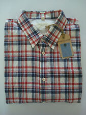 Bnwt levi's made and crafted shirt à manches courtes-taille 0 (xs) - rrp £ 105-lvc