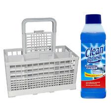 Indesit D4000WG/S D4200WG&WG/1 D61DUK Dishwasher Cutlery Basket + Cleaner