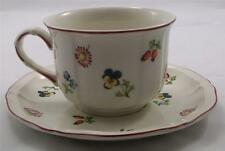 Villeroy & and Boch PETITE FLEUR large breakfast cup and saucer