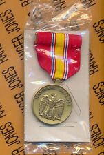 US ARMED  FORCES NATIONAL DEFENSE SERVICE MEDAL full sized award NOS