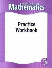 Houghton Mifflin Mathematics: Practice Workbook for Level 5 (2000, Paperback)