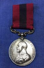 Médaille britannique en argent Georges V, British Medal 14-18, For Distinguished