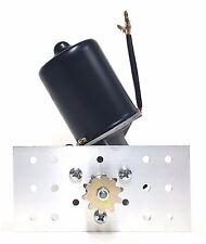 Electric Gear Motor 12v DC 50 RPM Gearmotor Roller Chain Sprocket Gear + Bracket