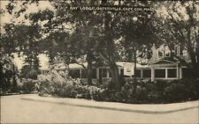 Osterville Cape Cod MA East Bay Lodge Postcard