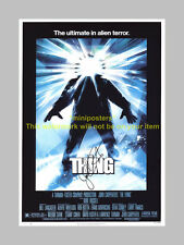 "THE THING PP SIGNED POSTER 12X8"" JOHN CARPENTER"