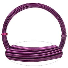 Purple Aluminum Wrapping Wire 45 Foot Coil 16 Guage Jewelry Craft