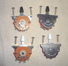 4 Lot of 3 WAY LEVER BLADE SWITCHES US  STRAT STYLE MIGHTY MITE  Electric Guitar