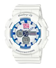 Casio Baby-G * BA120-7B Sporty Color White Anadigi MOM17 COD PayPal