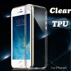 Slim Soft TPU Gel Silicone Clear Crystal Back Case Cover Fr Apple iPhone 5 5G 5S