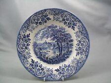 Churchill English Scene dinner plate.