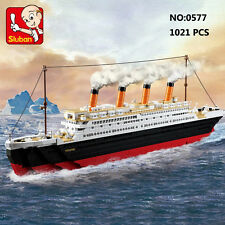Sluban B0577 Titanic Ship Jack Rose Figures Building Blocks Toy Fit with LEGO