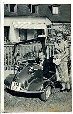 Messerschmitt Kabinenroller--KR 200--Zeitungsausschnitt von 1956