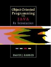 Object-Oriented Programming with Java: An Introduction Barnes, David Paperback