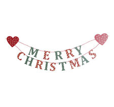 Sasse & Belle Merry Christmas Garland - Sass and Belle Christmas Decoration