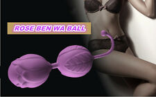 Silicone Ben Wa Balls Kegel Exerciser Vaginal Duo-Tone Triple Tightening S63