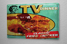 M.A. Allen Retro tin sign metal plate U.S. Deco TV dinner television cooking sho
