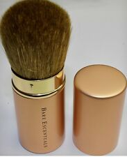 Bare Escentuals Minerals Kabuki Brush Retractable Champagne Cosmetic Gold NEW