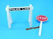 WWE Jakks STOP SIGN POLICE BARRICADE Wrestling FIGURE Accessory WEAPON PROP_s11