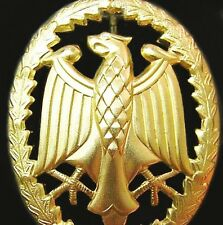GERMAN ARMY GOLD PROFICIENCY BADGE MEDAL ALSO AWARDED USA & FOREIGN FORCES