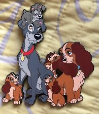 Lady And The Tramp Fantasy Pin