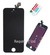 NEW BLACK APPLE IPHONE 5 5G REPLACEMENT TOUCH SCREEN DISPLAY MD299B/A + TOOLS