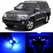 13 x Ultra Blue LED Interior Lights Package For 2013 and Up Toyota Land Cruiser