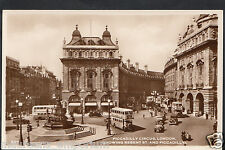 London Postcard - Piccadilly Circus Showing Regent Street  RS182