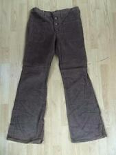 Vintage 70s WRANGLER 'Blue Bell' DEADSTOCK Bellbottom Flares Brown   34W x 32L