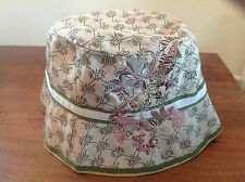 BRENTON RIVER ISLAND GUCCI STYLE FISHERMANS BUCKET HAT    58cm   NEW