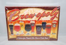 NEW Brewopoly Game Late for the Sky Beer Monopoly Wood Pieces Made in USA