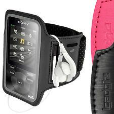Schwarz Anti-Rutsch Armband Reflektierende für Sony Walkman NWZ-E585 & E384 Jog