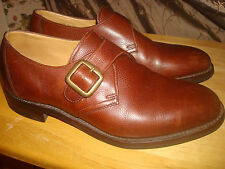 CHARLES TYRWHITT One Buckle Oxford Brown Shoes USA size 8 M - 8.5M, EU 41.5