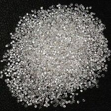 Real Natural Round Cut 0.30TCW Loose Diamonds SI1-SI2 / F G Color at Best Price