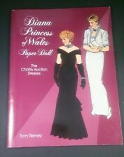 Diana Princess of Wales Paper Doll: The Charity Auction Dresses by Tom Tiern