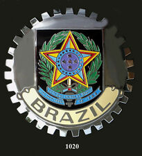 CAR GRILLE EMBLEM BADGES - BRAZIL (CREST)