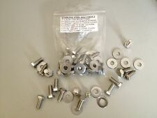 MGF / MG TF NEW STAINLESS STEEL COMPLETE UNDER BONNET BOLT PACK 2