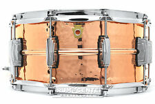 Ludwig Copper Phonic Snare Drum 14x6.5 Hammered - LC662K