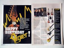 COUPURE DE PRESSE-CLIPPING : VIGIER 30 ans [4pages] 2010 Ron Thal,Godin,Glover